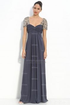 Empire V-neck Chiffon Mother Of The Bride Dress - IZIDRESSBUY.COM at IZIDRESSBUY.com