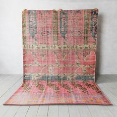 Beautifully handmade in India by a team of skilled weavers, our Indus print rug will add a stunning pop of colour to any interior space. Industrial Floor Mirrors, Coat Stands, Large Rugs, Hand Knotted Rugs, Rug Runner, Color Pop, Colour, Home Accessories, Bohemian Rug