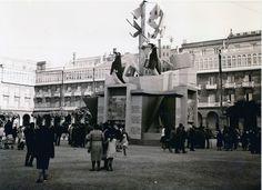 Falla de inicio de las Fiestas de Maria Pita,años 60
