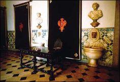 Belem National Palace interior detail , Lisbon, Portugal