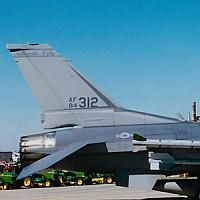 F-16 Units - USAF ANG 119th Fighter Squadron 1994-1995