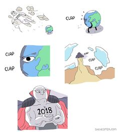 2018 vs Earth