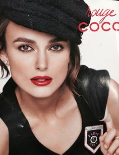 Rouge coco lipstick with Kiera Knightly