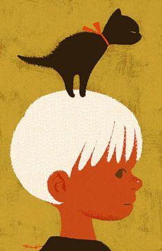 Cat on my head, kittehkats.tumblr.com