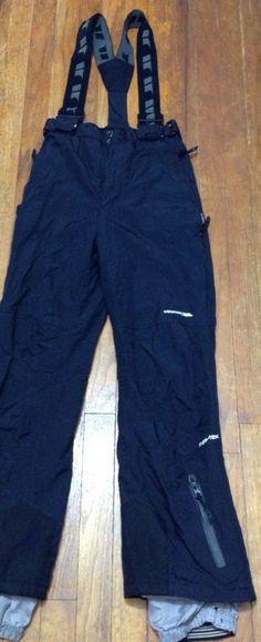 Trespass salopettes Boys 11 12 Wind water proof layered Ski Snow board Pants Bib #Trespass