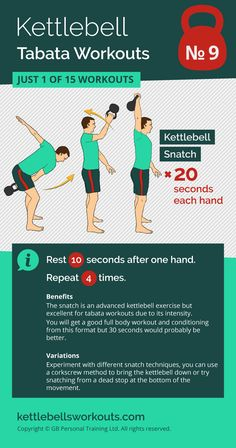 1 of 15 kettlebell tabata workouts that will activate over 600 muscles in your body in only 4 minutes. 1 of 15 kettlebell tabata workouts that Best Kettlebell Exercises, Kettlebell Deadlift, Kettlebell Challenge, Kettlebell Training, Tabata Workouts, Kettlebell Swings, Workout Kettlebell, Fitness Exercises, Kettlebell Benefits