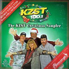 KZST 100.1 Christmas Sampler Cd 2005 Wham Elton Celine Nat Estefan Macca Beachby #Christmas