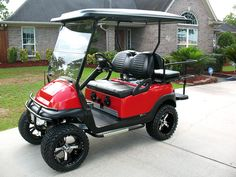 2008 Club Car Precedent custom lifted golf cart -  www.ckdgolfcarts.com