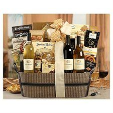 Chocolate and Cookie Tower Wine Basket Gift Ideas $18.95