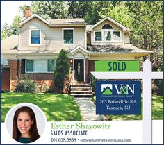 Another home #SOLD by Esther Shayowitz - V & N Realty  Need help finding your #dreamhome ? Contact 201-638-5858 or visit us online at www.vera-nechama.com  More Listings. More Experience. More Sales.  #teaneck #bergenfield #newmilford #realestate #veranechamarealty #njrealestate #realtor #homesforsale - http://ift.tt/1QGcNEj