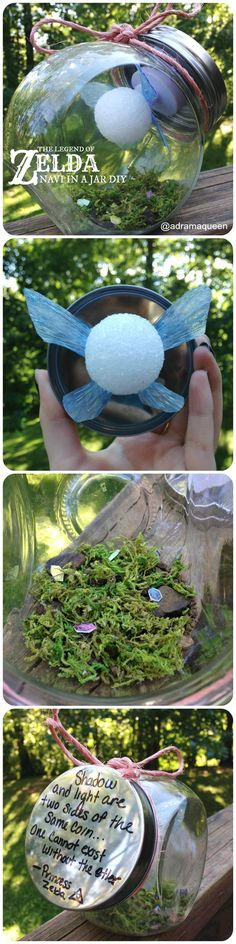 The Legend of Zelda: Navi in a Jar DIY!