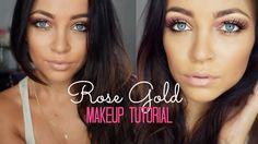 Rose Gold Makeup Tutorial♡