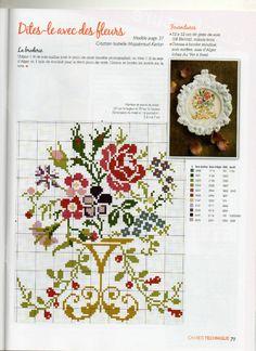 Cross Stitch Borders, Cross Stitch Flowers, Cross Stitch Charts, Cross Stitch Designs, Cross Stitch Patterns, Vintage Cross Stitches, Book Crafts, Kids And Parenting, Needlework