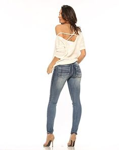 Rubberband Stretch Women's Skinny Jeans (Sarina/Circus Bl... https://www.amazon.com/dp/B01DKX5UJE/ref=cm_sw_r_pi_dp_TpPDxb6FMP0XM