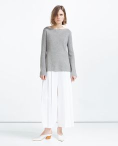 ZARA - COLLECTION SS16 - RIBBED SWEATER