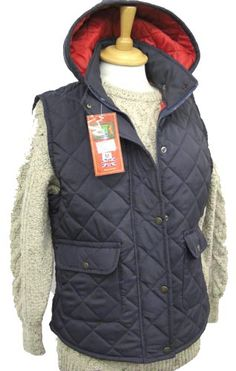 8600cb44b6d5 Hunter Outdoor Barley Quilted Gilet - Navy Blue with Red Liner Fitted waist  Two front pockets