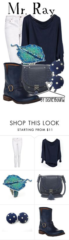 """""""Mr. Ray"""" by leslieakay ❤ liked on Polyvore featuring MANGO, Rachel Rachel Roy, French Connection, Disney, Fiorentini + Baker, women's clothing, women's fashion, women, female and woman"""