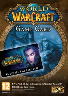 Buy Online World of Warcraft 60 Days Timecard Games