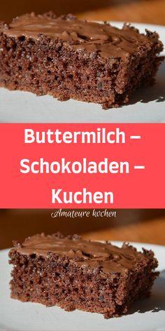 Heart Healthy Desserts, Healthy Dessert Recipes, Fall Desserts, Cake Recipes, Snack Recipes, Buttermilk Chocolate Cake, Cake Chocolate, Easy Smoothie Recipes, Coconut Recipes