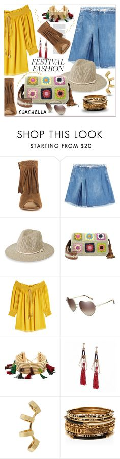 """""""Festival fashion..."""" by nihal-imsk-cam ❤ liked on Polyvore featuring Chinese Laundry, See by Chloé, Simons, Patricia Nash, Roberto Cavalli, Love, Rosantica, Repossi, Haze and Amrita Singh"""