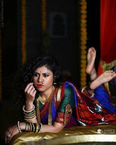 Marathi Bride, Marathi Nath, Indiana, Kashta Saree, Nauvari Saree, Village Girl, Pakistani Girl, Beauty Full Girl, Traditional Looks