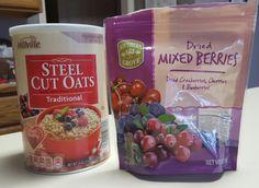 Instant Pot 3-Berry Steel Cut Oats
