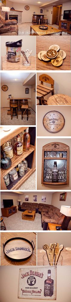 Jack Daniels Man Cave / Basement Bar