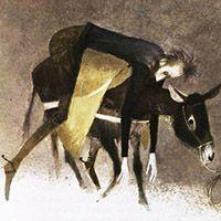 Miguel de Cervantes. Don Quichotte de la manche. Deux Coqs D'or, Paris, 1968. Illustrator Riera Rojas.