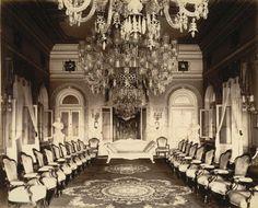 An Old & Rare Photo of Durbar Hall, Nazarbaug Palace, #Vadodara (#Baroda) from Year 1890. — in Vadodara.