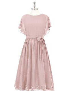 Shop Azazie Bridesmaid Dress - Alejandra in Chiffon. Find the perfect made-to-order bridesmaid dresses for your bridal party in your favorite color, style and fabric at Azazie.