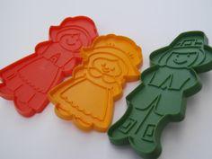 Thanksgiving Pilgrim Family Cookie Cutter Set Hallmark by pezzazz