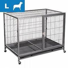 bitiba Gabbia Tabby  L  L 1095 x P 70 x H 875 cm Dressage, Parakeet Cage, Metal Bins, Designer Dog Carriers, Budgies, Shelter Dogs, Plastic Laundry Basket, Dog Supplies, Dog Design