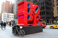 Dónde está la escultura HOPE de Nueva York