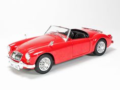 Mg Mga Roadster Cast Model Car By Revell 084459092 This