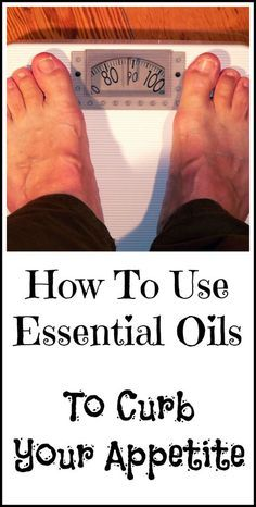 How essential oils may be able to help you lose weight by acting to curb your appetite.