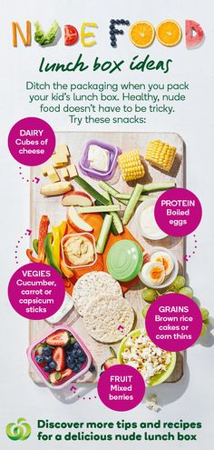 Ditch the packaging when you pack your kids lunchbox! Lunch Box Recipes, Baby Food Recipes, Cooking Recipes, Lunchbox Ideas, Toddler Meals, Kids Meals, Healthy Snacks, Healthy Recipes, Kid Friendly Meals