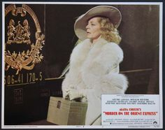 MURDER ON THE ORIENT EXPRESS Movie Poster (1974)