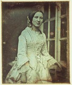 Unidentified woman at door ca. 1850 Daguerreotype George Eastman House