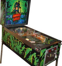 Haunted House Pinball Machine (Gottlieb 1982)