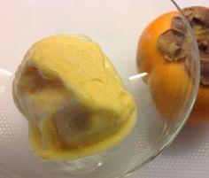 Receita Sorvete de Diospiro por Ju Abreu - Categoria da receita Sobremesas