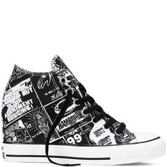 Chuck Taylor All Star Lux Wedge Andy Warhol - Converse