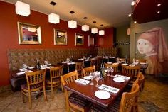Caffe Mio Italian Bistro > Home Italian Bistro, The Neighbourhood, Conference Room, Table Settings, Home Decor, Homemade Home Decor, Meeting Rooms, Interior Design, Place Settings