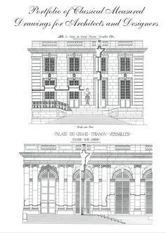 classical architectural drawing - Google Search