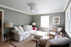 Classic Coastal Colonial Renovation - the Anti McMansion - eclectic - living room - newark - Michael Robert Construction