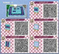 Magic River Path Animal Crossing New Leaf Qr Code