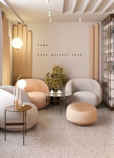 interior design / aesthetic medicine clinic / kyiv on Behance Spa Room Decor, Beauty Room Decor, Beauty Salon Decor, Beauty Salon Interior, Schönheitssalon Design, Regal Design, Parlour Design, Clinic Interior Design, Clinic Design