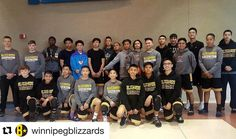 #Repost @winnipegblizzards represent at Grand Am 2017 with 1999 2000 & 2004 teams