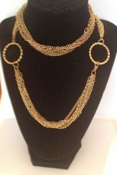 Vintage Caged Pearl Gold Necklace Costume Jewelry on Etsy 2210