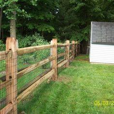3 rail split rail fencing | Yelp