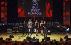 VUNK | Cel mai bun artist pop-rock @ Premiile România Actualități  // Foto: Petru Ivu (c) VUNK